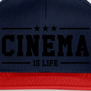 Cinema is life Tee shirts - Casquette snapback