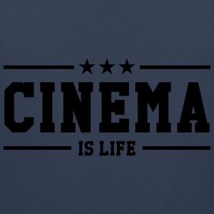 Cinema is life Koszulki - Tank top męski Premium