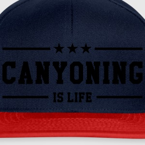 Canyoning is life T-shirts - Snapback Cap