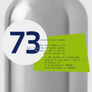 73 the best number BIG BANG - Trinkflasche