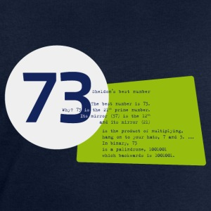 73 the best number BIG BANG - Männer Sweatshirt von Stanley & Stella