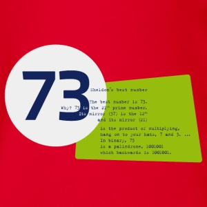 73 the best number BIG BANG - Baby Bio-Kurzarm-Body