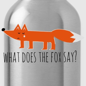 what does the fox say renard meme Proverbes Tee shirts - Gourde