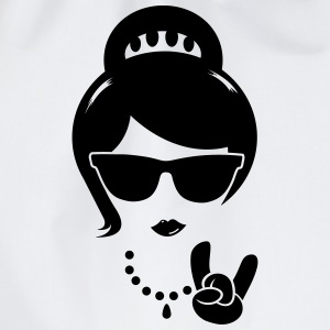Die Frau mutter swag hipster female party boss T-Shirts - Turnbeutel