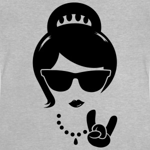 Die Frau mutter swag hipster female party boss T-Shirts - Baby T-Shirt