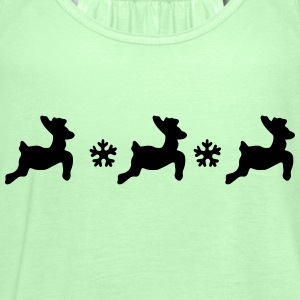 Reindeer  Aprons - Women's Tank Top by Bella