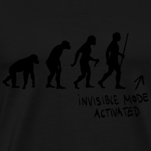 Evolution - Invisible Mode Activated Pullover & Hoodies - Männer Premium T-Shirt