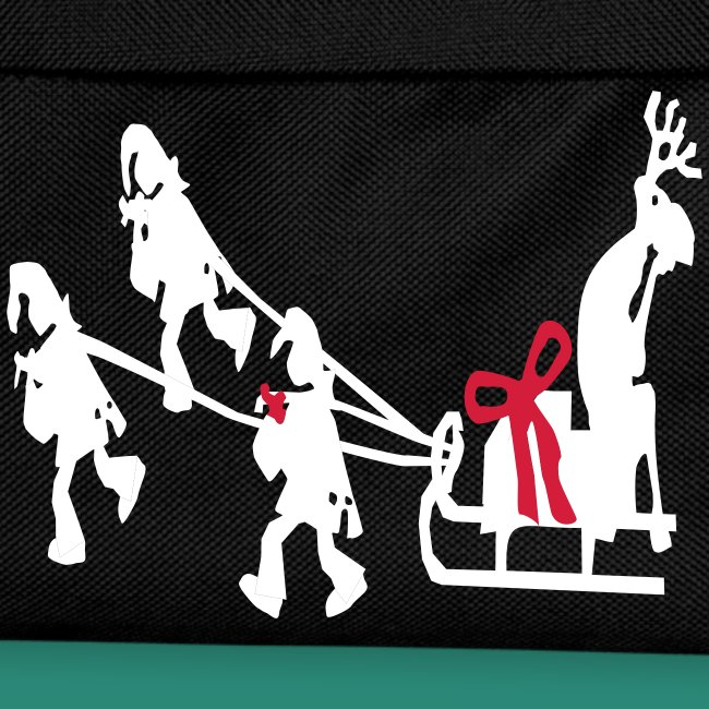 männer T-Shirt Weihnachtswichtel