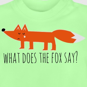 what does the fox say renard meme Proverbes Tee shirts - T-shirt Bébé