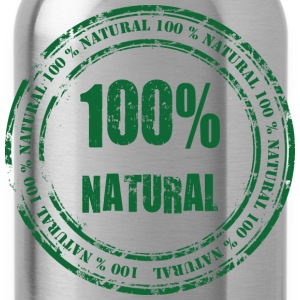 100% Natural T-Shirts - Water Bottle