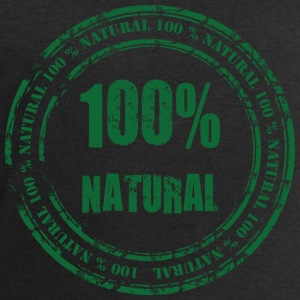 100% Natural Hoodies - Men's Sweatshirt by Stanley & Stella