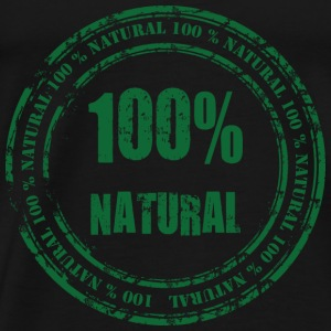100% Natural Hoodies - Men's Premium T-Shirt