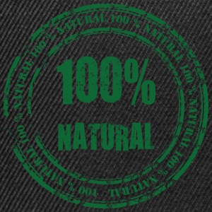 100% Natural Sweats - Casquette snapback