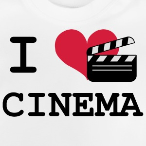 I Love Cinema Tee shirts - T-shirt Bébé