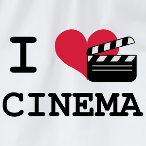 I Love Cinema Shirts - Gymtas