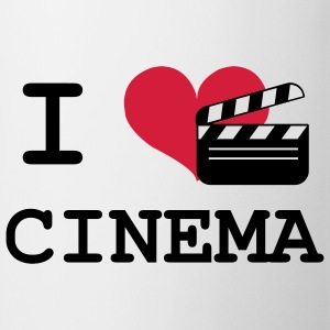 I Love Cinema Magliette - Tazza