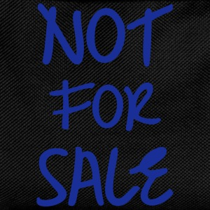 Not for Sale, www.eushirt.com Pullover & Hoodies - Zaino per bambini