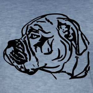 www.dog-power.nl - Männer Vintage T-Shirt