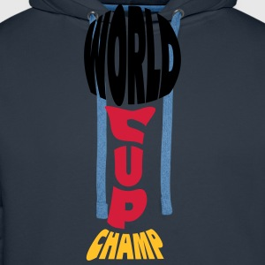 Worldcup Champion T-Shirts - Men's Premium Hoodie