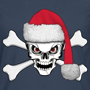 skull happy christmas Shirts - Men's Premium Longsleeve Shirt