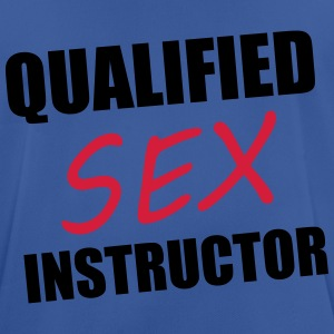 Sex Instructor Gensere - Pustende T-skjorte for menn