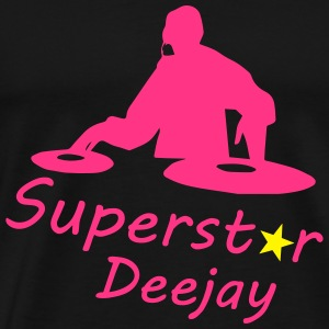 Superstar Dj Sweatshirts - Herre premium T-shirt