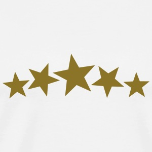 5 Gold Stars, Freestyle, Birthday, Christmas, Gift Tröjor - Premium-T-shirt herr