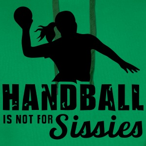 Handball is not for sissies - Ballsport - 1C T-Shirts - Männer Premium Hoodie