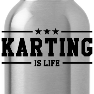 Karting is life Tee shirts - Gourde