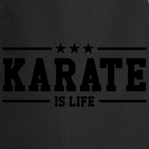 Karate is life Tee shirts - Tablier de cuisine