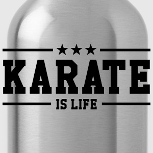 Karate is life Shirts - Water Bottle