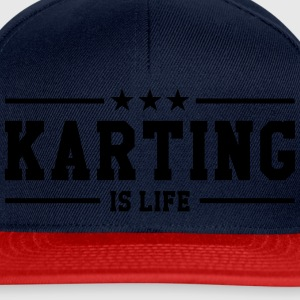 Karting is life T-shirts - Snapback cap