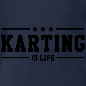 Karting is life Tee shirts - Body bébé bio manches courtes