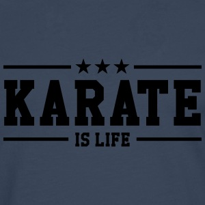Karate is life Skjorter - Premium langermet T-skjorte for menn