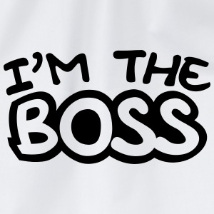 I'm The Boss Comic Style T-Shirts - Turnbeutel