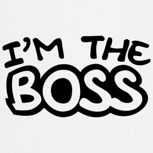 I'm The Boss Comic Style T-shirts - Förkläde