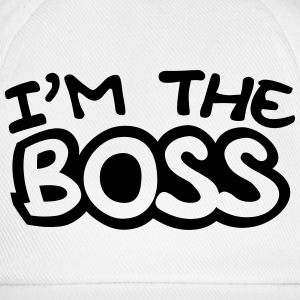 I'm The Boss Comic Style T-shirts - Basebollkeps