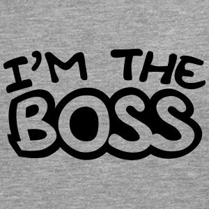 I'm The Boss Comic Style Tee shirts - T-shirt manches longues Premium Homme