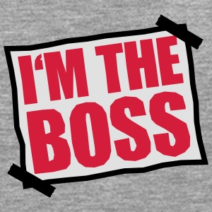 I'm The Boss Notice Camisetas - Camiseta de manga larga premium hombre