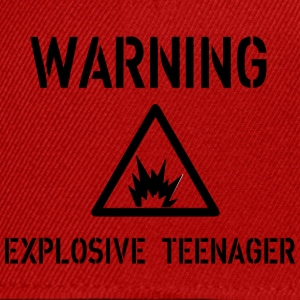 Warning T-shirts - Snapback cap