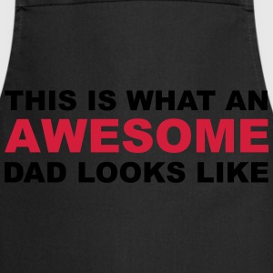 Awesome Dad T-Shirts - Cooking Apron