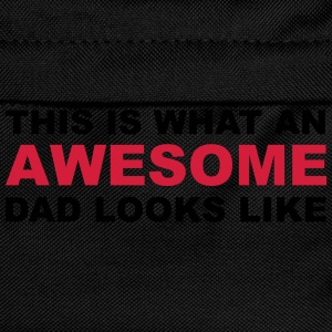 Awesome Dad T-skjorter - Ryggsekk for barn