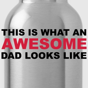 Awesome Dad T-Shirts - Water Bottle