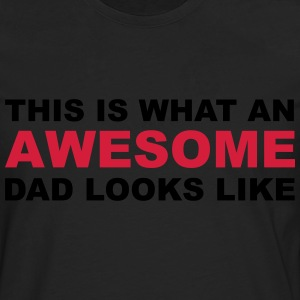 Awesome Dad T-Shirts - Men's Premium Longsleeve Shirt