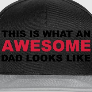 Awesome Dad T-Shirts - Snapback Cap
