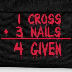 1 Cross + 3 Nails = 4 Given Pullover & Hoodies - Kinder Rucksack