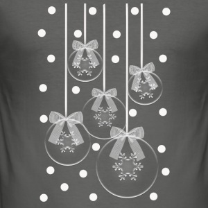 christmas balls Bags & backpacks - Men's Slim Fit T-Shirt
