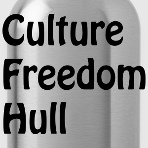 culturefreedomhull T-Shirts - Water Bottle