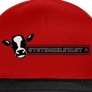 vache systemrelevant Tee shirts - Casquette snapback