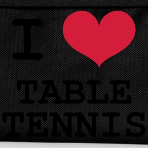 I Love Table Tennis Shirts - Kids' Backpack